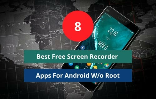 Best free screen recorder app for android without any root