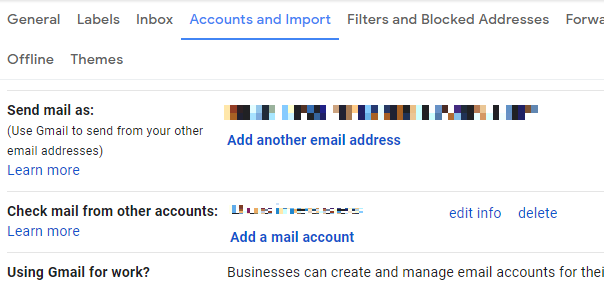 First login into your new Gmail account. Go to Settings. Under the Accounts and Import, tab goto Check mail from other accounts and hit Delete Account next to your Gmail account   move emails from one gmail account to another