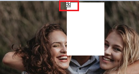 Make sure that you carefully pull the cutout image (see red box in below image) or else if you by mistakenly click anywhere else you might have to repeat the process again.
